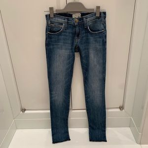 Current Elliott The Rolled Skinny Jeans